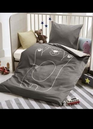 Комплект детского постельного белья lupilu детское постельное ...