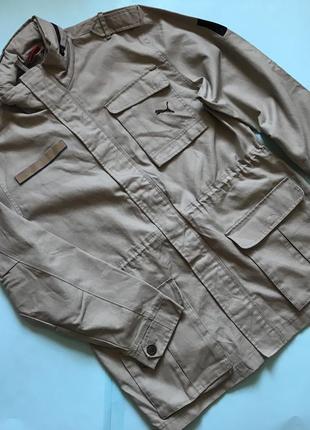 Мужская куртка puma оригинал тренч р l очень модные в этом сез...