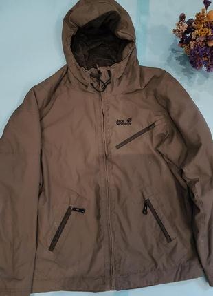 Фирменная куртка jack wolfskin