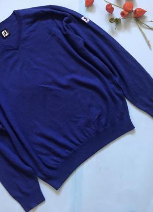 Мужской свитер 100% шерсть
