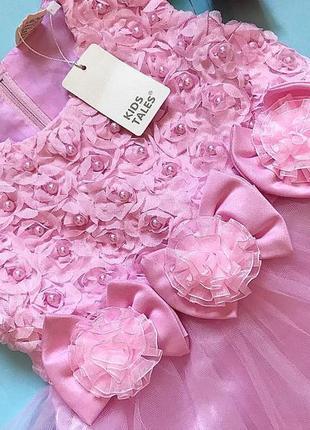 Нарядное детское платье. новое с бирками 6 лет