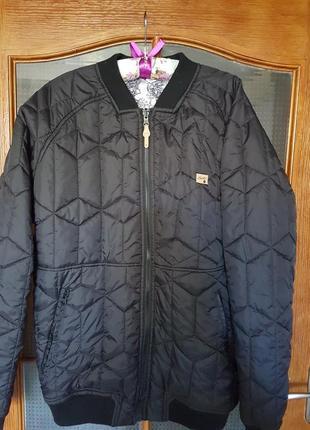 Двусторонняя стеганая мужская курточка