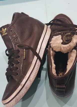 """Кроссовки adidas 3 streifen the brand  leather оригинал"""""""