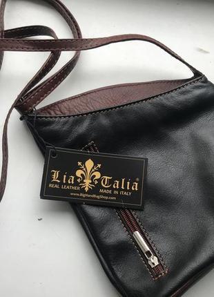 Новая сумка итальянского бреда натуральная кожа