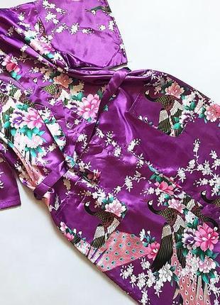 Красивый халат в японском стиле  размер на бирочке не указан, ...