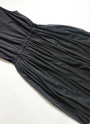Платье с фатиновой юбкой р 10