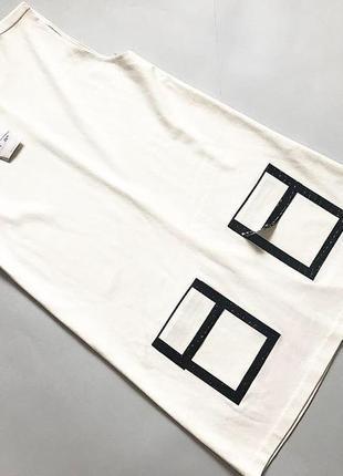 Платье миди zara  плотная ткань  новое с этикетками