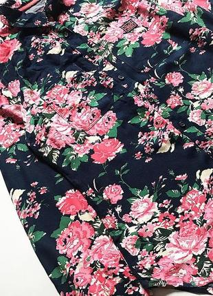 Очень красивая рубашка superdry  р s/m (8/10)  приятная к телу...
