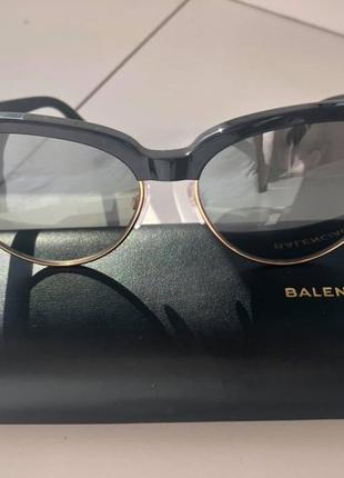 Очки солнцезащитные оригинальные Balenciaga BA0127 20C - Италия
