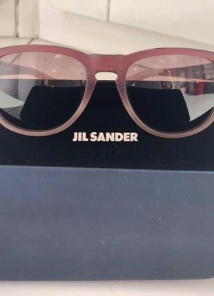 Очки солнцезащитные оригинальные Jil Sander JS626S-605-52 -Италия