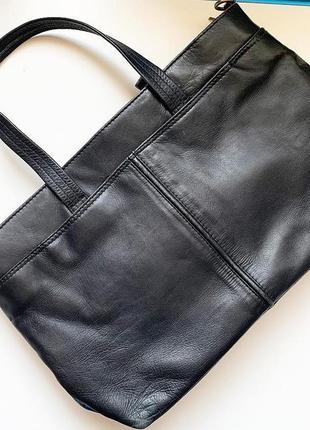 Итальянская сумка gigi кожа