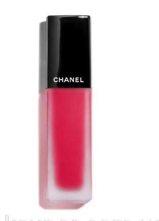 Жидкая матовая помада для губ chanel rouge allure