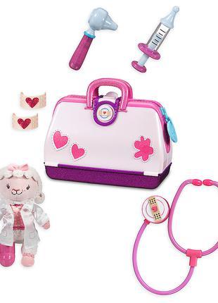 Игровой набор чемоданчик Доктор Плюшева с овечкой