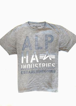 Alpha industries футболка