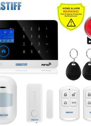 Домашняя охранная сигнализации с поддержкой WI-Fi и GSM