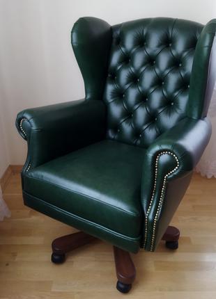 Новое кабинетное кресло garne kriselechko, крісло керівника шкіра