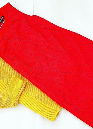 Красивое красное платье debenhams с кружевом, натуральная ткань