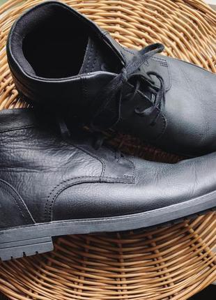 Мужские ботинки caterpillar натуральная кожа
