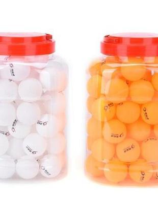 Набор мячей для настольного тенниса, пинг понга 60 штук в плас...