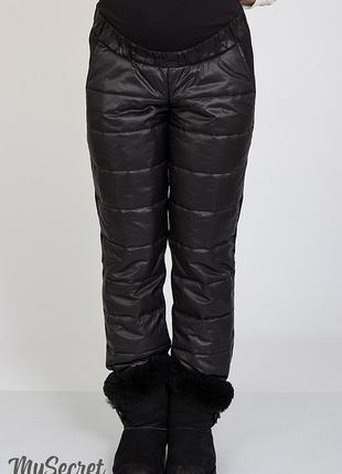 Акция до 27.11.20 брюки для беременных из теплого трикотажа с ...