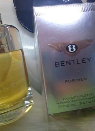 🌹оригинал 🌹100 мл bentley bentley for men восточные пряные