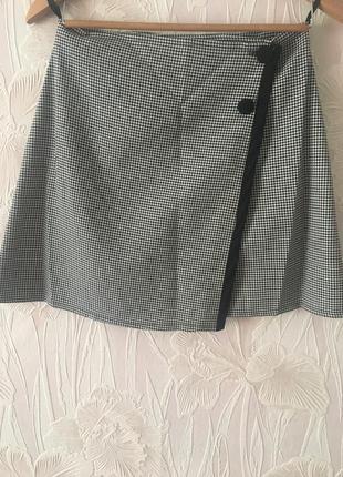 Стильная юбка на запах