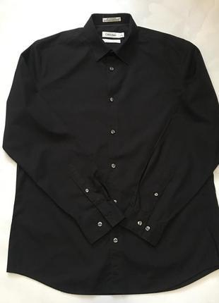 Оригинальная чёрная рубашка calvin klein