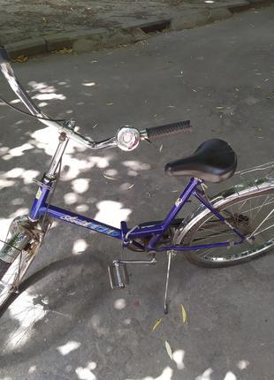 Подростковый складной велосипед
