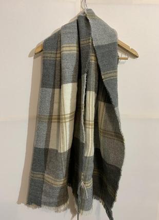 Тёплый шарф объемный