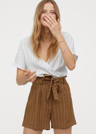 Новые шорты h&m. размер 36