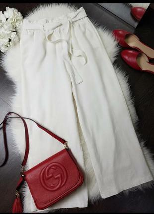 Белые, кюлоты,шорты, кюлоти, штани, білі