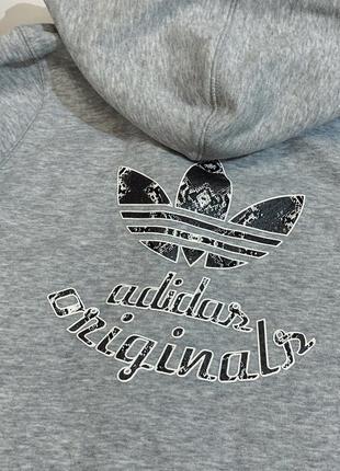 Оригинальная худи , кофта на замке adidas original оригинал