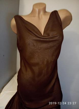 Нежное платье из шифона в бельевом стиле