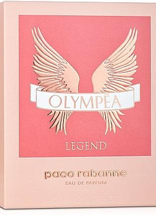 Paco rabanne olympea legend, edp, пробник 1,5 мl, оригинал, 2019