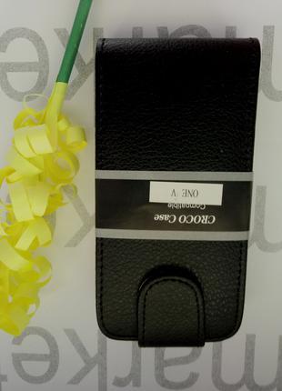 Чехол для HTC One V (черный)
