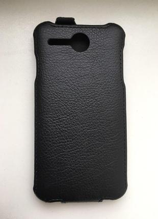 Чехол для Lenovo A680 Cover Flip Черный