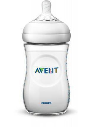 Бутылочка для кормления Philips AVENT Natural 260 мл (SCF033/17)