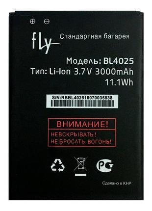 Аккумулятор Fly BL4025 для Fly IQ4411 Quad Energie 2 (3000 mAh)