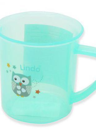 Детская чашка 150 мл, мятная LI 841