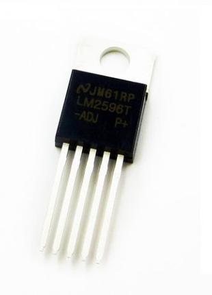 Регулируемый, импульсный преобразователь напряжения LM2596-ADJ