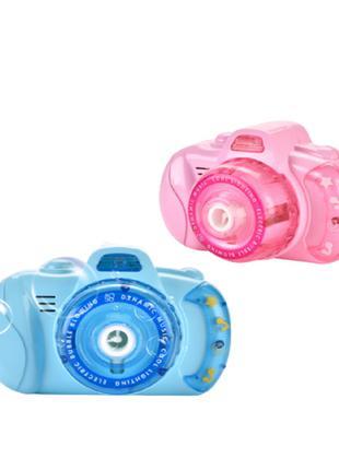Детский фотоаппарат для мыльных пузырей Bubble Camera   Мыльны...