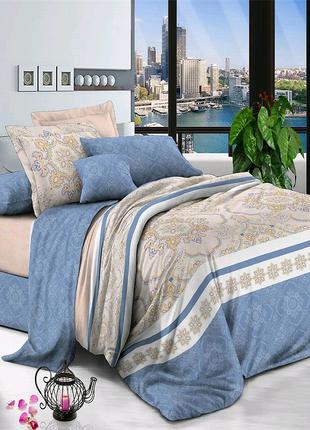 Поплиновое постельное белье, евро размер