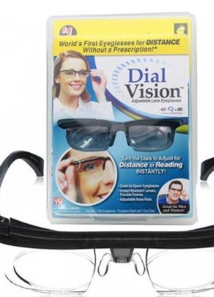 Очки с регулировкой диоптрий линз Dial Vision