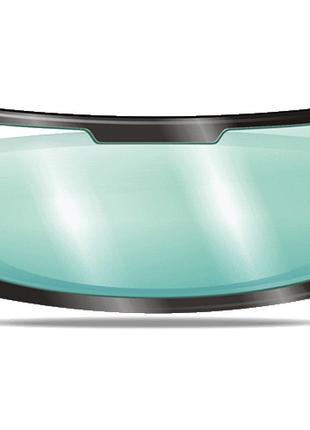 Лобовое стекло для Mazda 3 зеленое голубая полоса молдинг 5175...