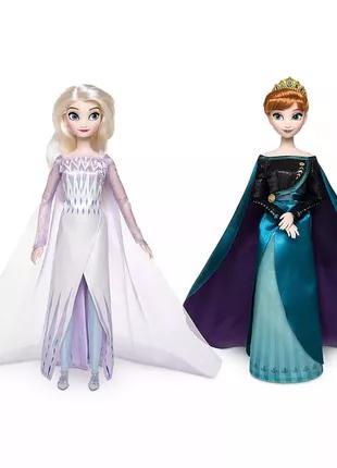 Кукла королева Анна и снежная королева Эльза Холодное сердце 2