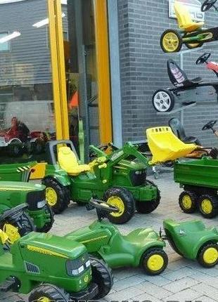 Трактор детский| Веломобиль| Falk| Rolly Toys| Smoby от 2 лет