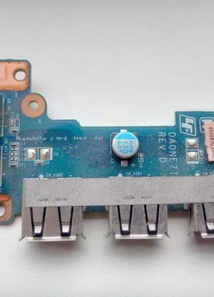 Планка расширения USB ноутбука Sony VAIO PCG-61611V