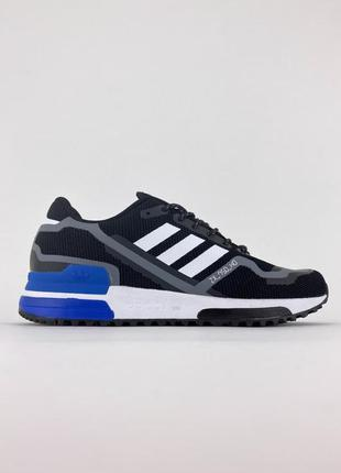 Мужские кроссовки adidas zx 750 black blue