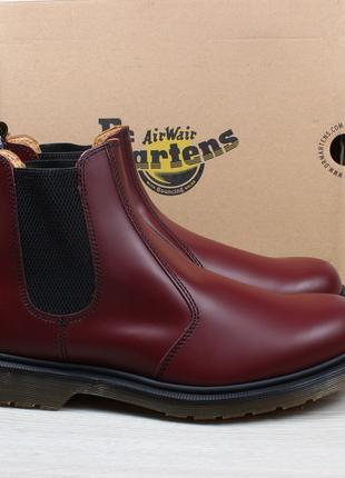 Мужские кожаные ботинки Dr.Martens chelsea оригинал, размер 46