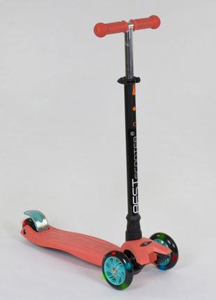 Самокат трехколесный Best Scooter MAXI 466-113 терракот